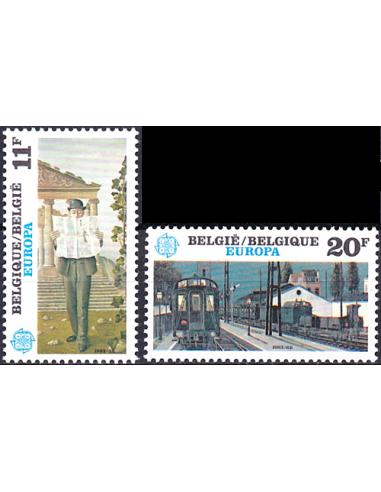BELGIQUE - n° 2091 à 2092 ** - EUROPA...