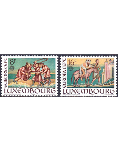 LUXEMBOURG - n° 1024 à 1025 ** -...