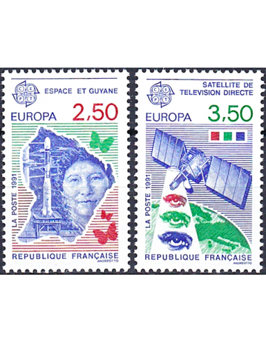 Timbre n° 2696 à 2697 ** - Europa...