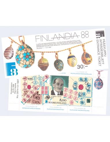 FINLANDE - Carnet n° 1014 ** -...