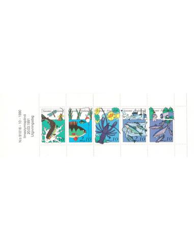 FINLANDE - Carnet n° 1103 ** - La pêche