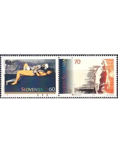 SLOVÉNIE - n°  104 à 105 ** (paire) -...