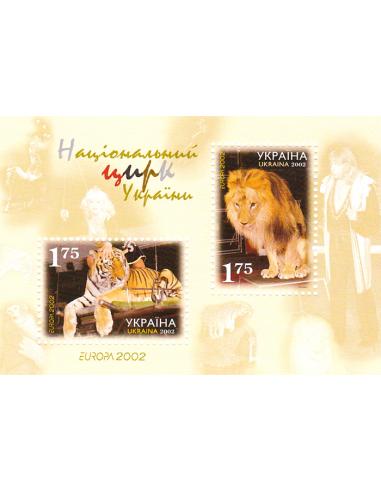 UKRAINE - BF n°   30 ** - Europa 2002...
