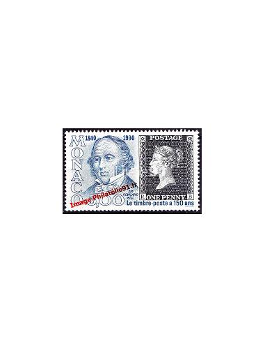 MONACO - n° 1719 - Emission du 1er timbre-poste