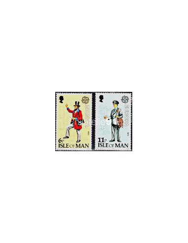 ILE DE MAN - n°  135 à 136 - EUROPA 1979