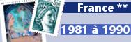 de 1981 à 1990 (n° 2118 à 2675)