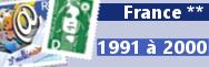 de 1991 à 2000 (n° 2676 à 3366)
