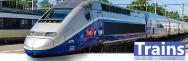 - Trains