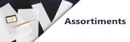 Assortiments de bandes & pochettes