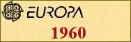 Timbres EUROPA 1960