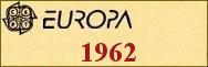 Timbres EUROPA 1962