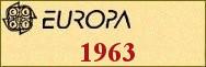 Timbres EUROPA 1963
