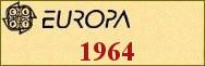 Timbres EUROPA 1964