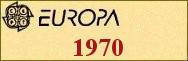 Timbres EUROPA 1970