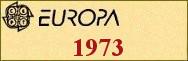 Timbres EUROPA 1973