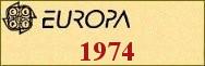 Timbres EUROPA 1974