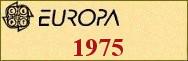 Timbres EUROPA 1975