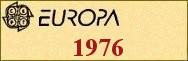 Timbres EUROPA 1976