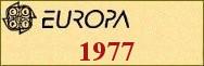 Timbres EUROPA 1977