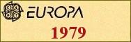 Timbres EUROPA 1979
