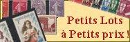 PETITS LOTS à PETITS PRIX!