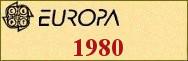 Timbres EUROPA 1980