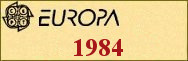 Timbres EUROPA 1984