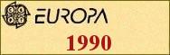 Timbres EUROPA 1990