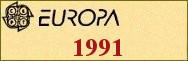 Timbres EUROPA 1991