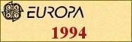 Timbres EUROPA 1994