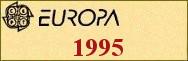 Timbres EUROPA 1995