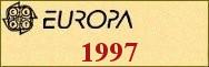 Timbres EUROPA 1997