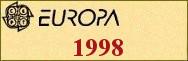 Timbres EUROPA 1998
