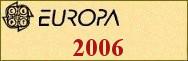 Timbres EUROPA 2006