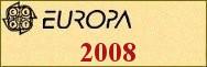 Timbres EUROPA 2008