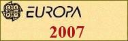 Timbres EUROPA 2007