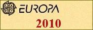 Timbres EUROPA 2010