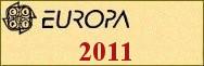 Timbres EUROPA 2011