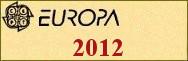 Timbres EUROPA 2012