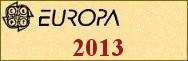 Timbres EUROPA 2013