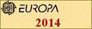 Timbres EUROPA 2014
