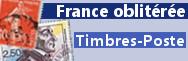 Timbres Poste oblitérés