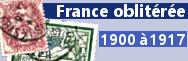 1900 à 1917 (n°107 à 155)