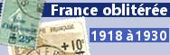 1918 à 1930 (n°156 à 268)