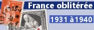 1931 à 1940 (n°269 à 469)