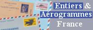 Entiers et Aérogrammes de France