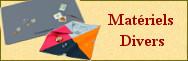 Matériels numismatiques divers