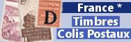 Colis postaux charnières *