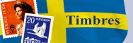 Suède - Timbres
