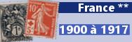 de 1900 à 1917 (n° 107 à 155)